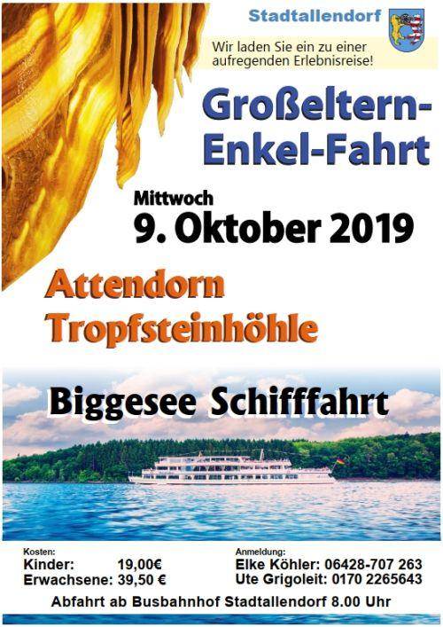 Grosseltern Enkelfahrt 2019